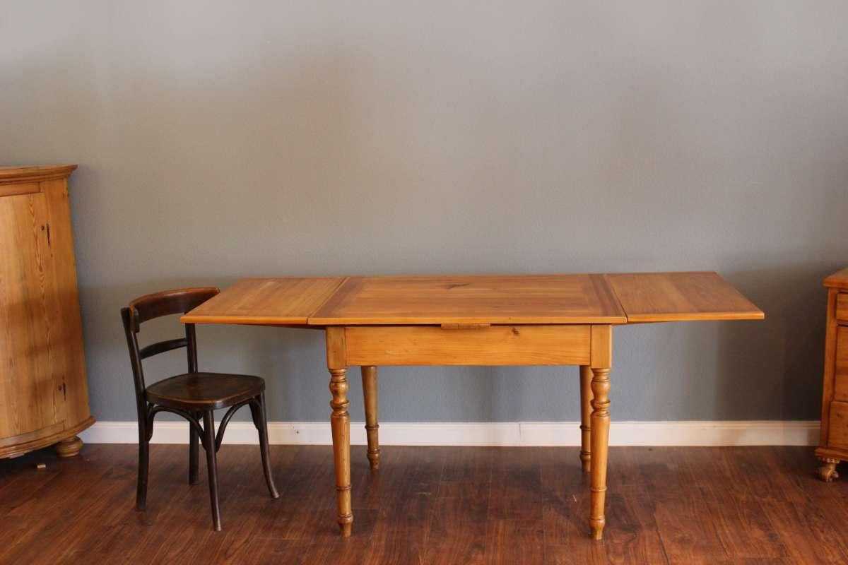 Grunderzeit Tisch Ausziehbar Mit Schublade