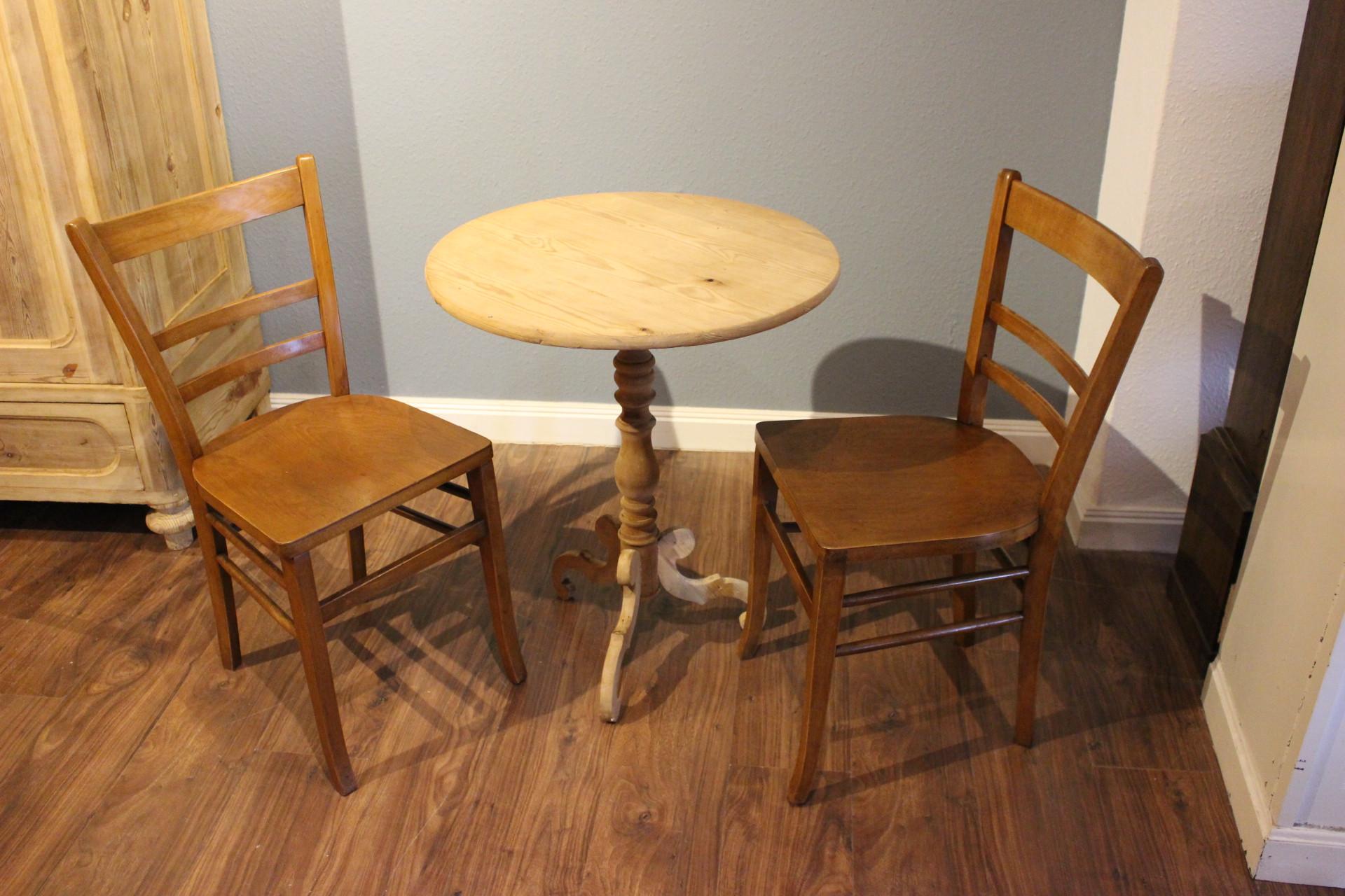 6  Kneipen-Stühle, Wirtshausgestühl (Art.-Nr.: 03477)