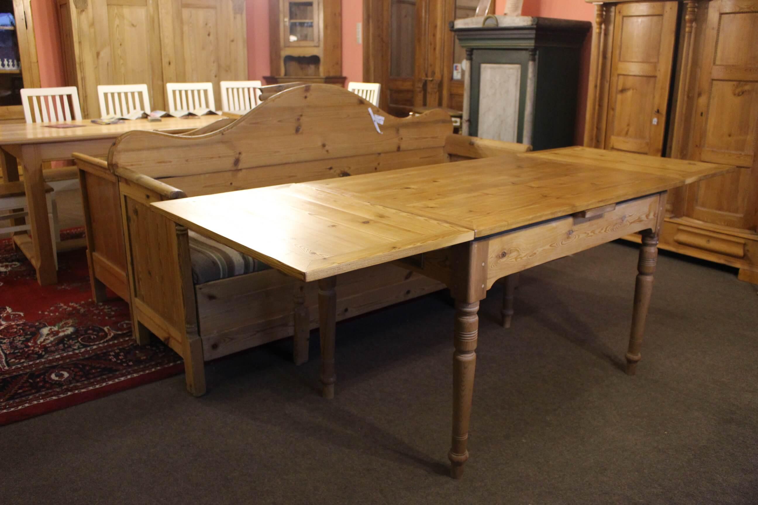 VERKAUFT - Tisch Esstisch Gründerzeit (Art.-Nr. 0130)