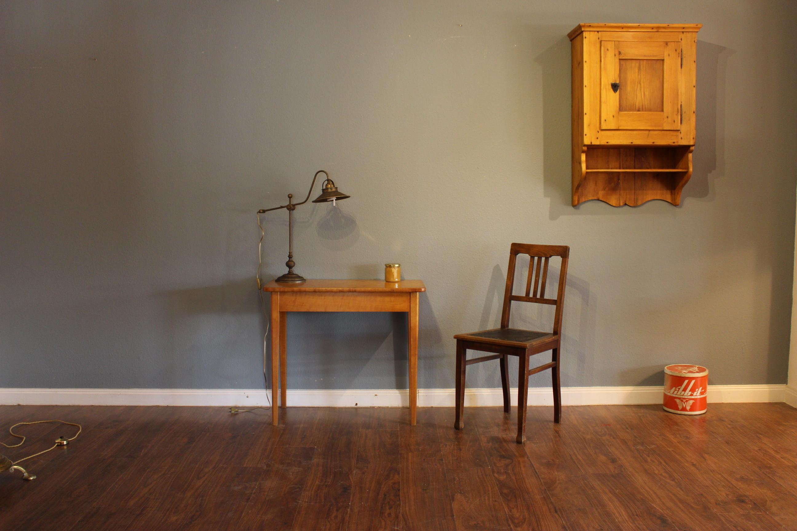 Tisch Biedermeier ,Schreibtisch, Birke (Art.-Nr. 03177)