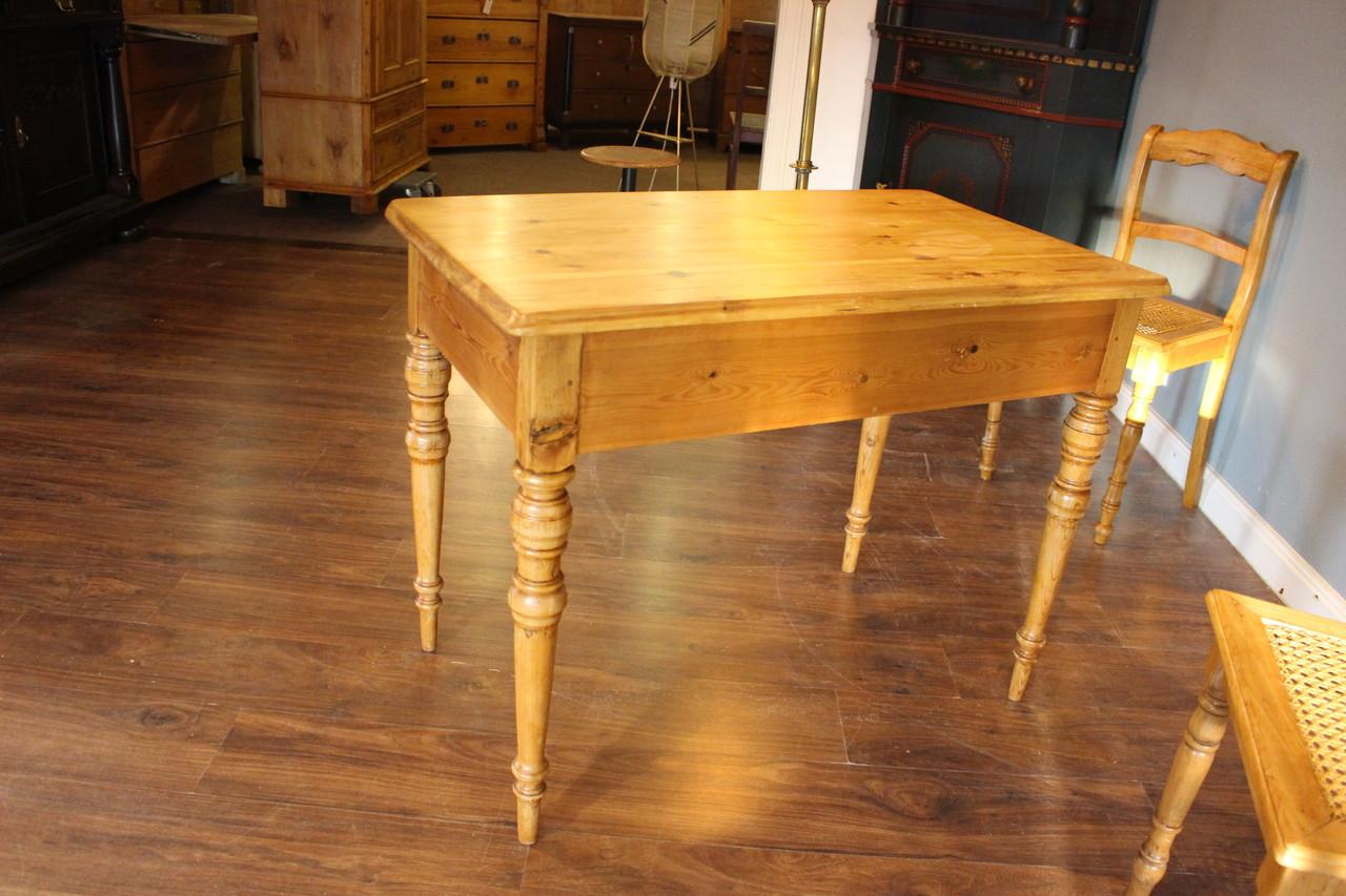 Tisch Schreibtisch Kuchentisch Kiefer Antik