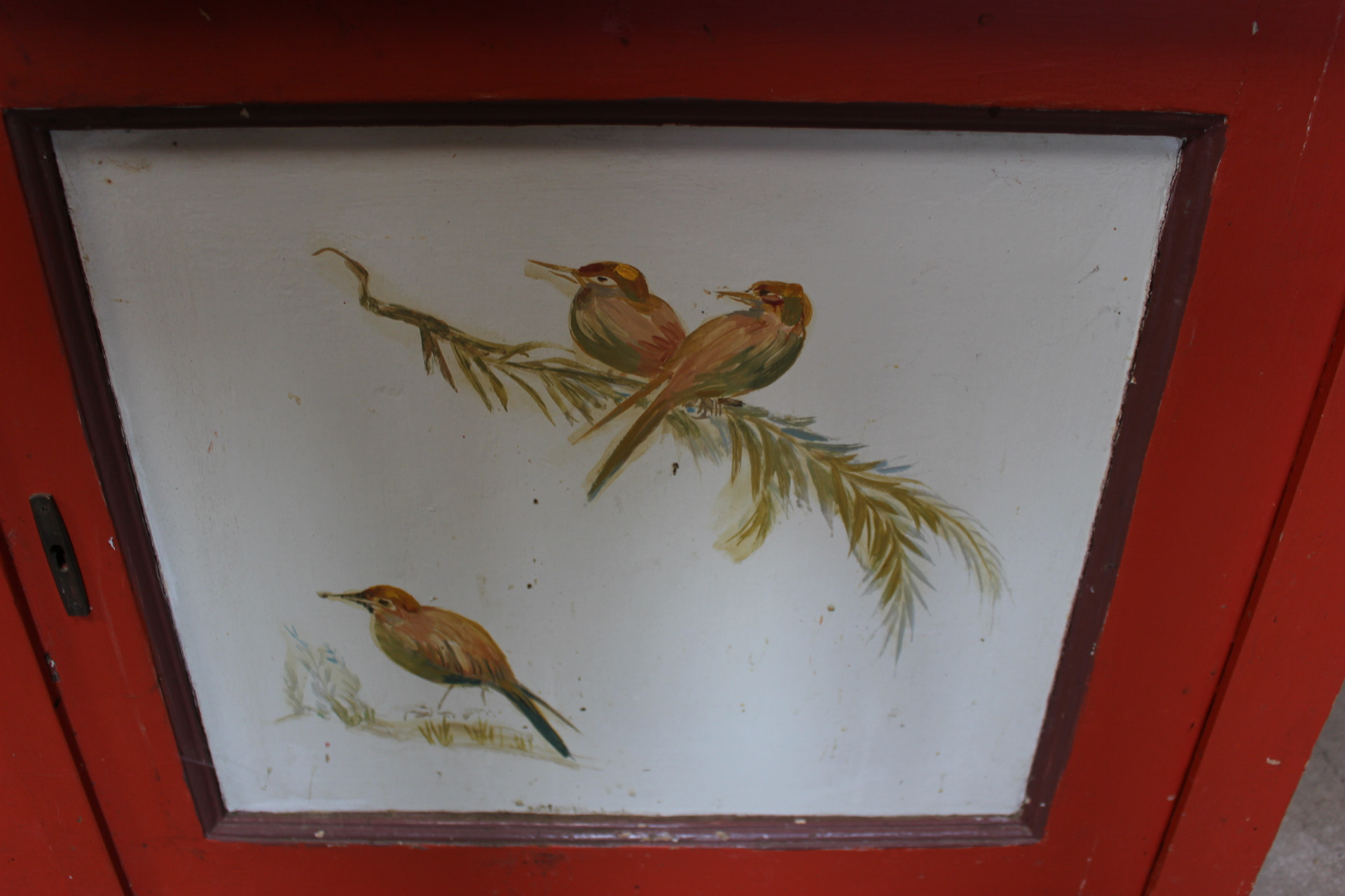 Antikes Küchenbuffet, Jugendstil (Art.-Nr. 03435)