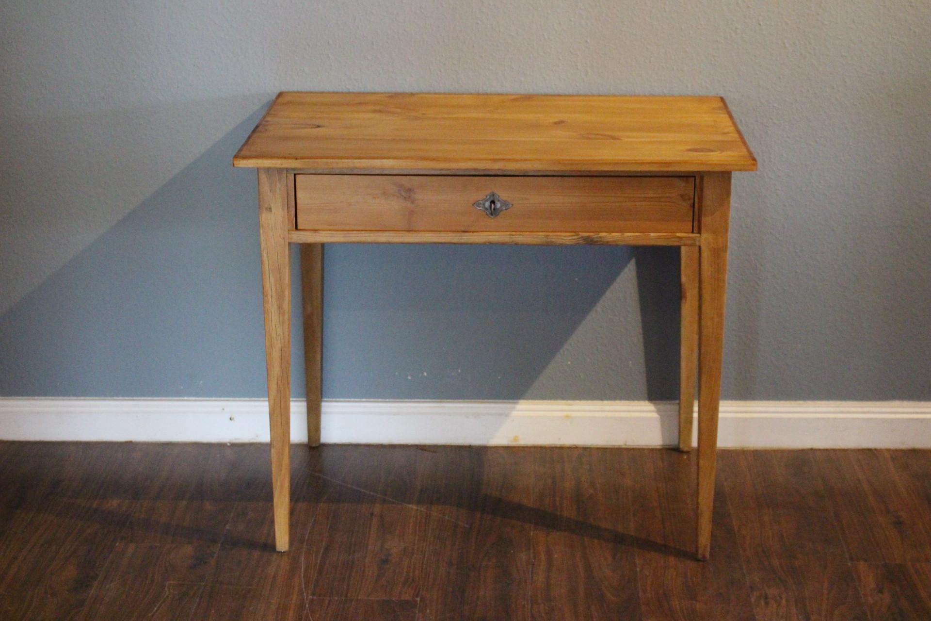 antiker Schreibtisch, Beistelltisch Biedermeier (Art.-Nr.: 03433)