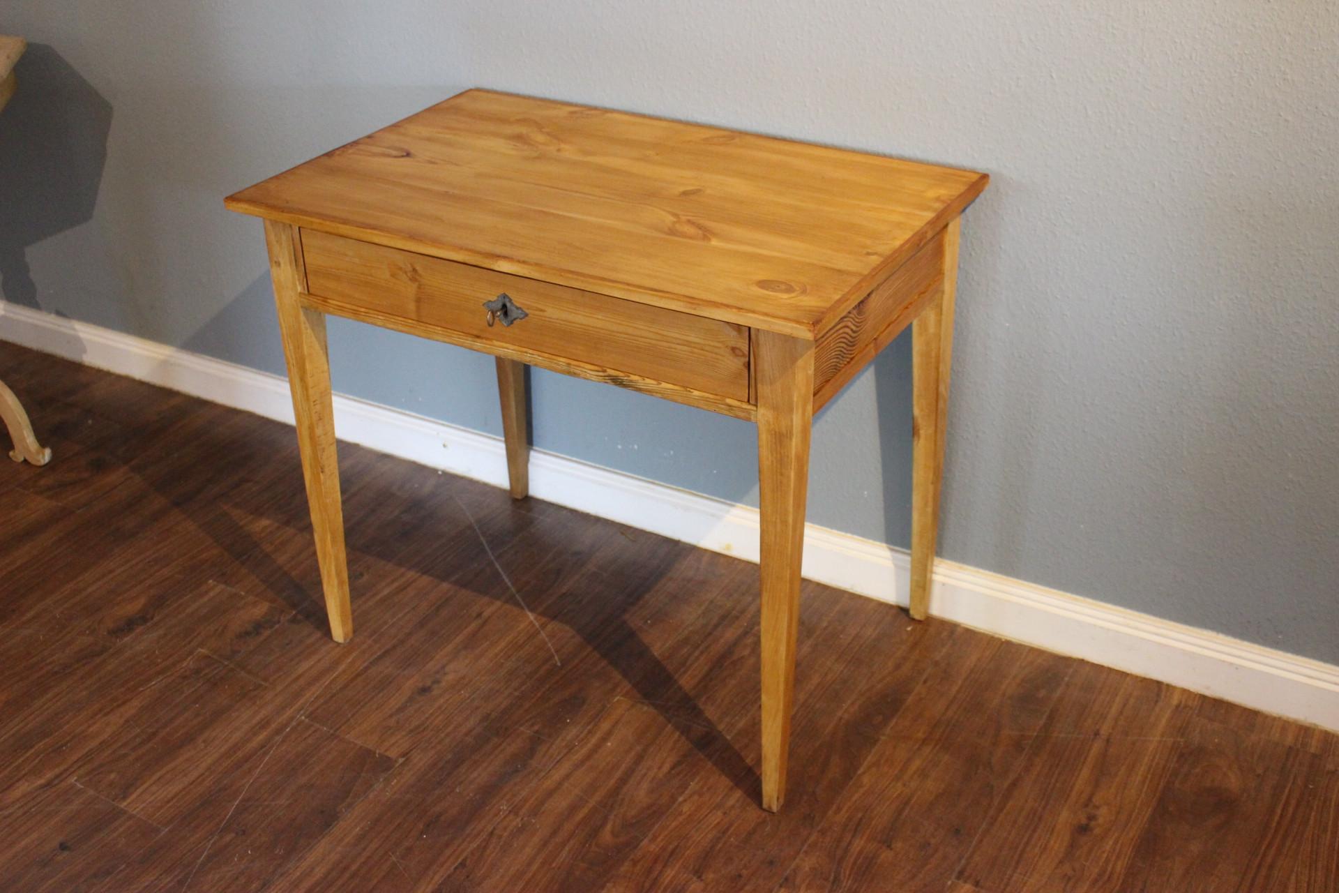 antiker Schreibtisch, Beistelltisch Biedermeier (Art.-Nr. 03433)