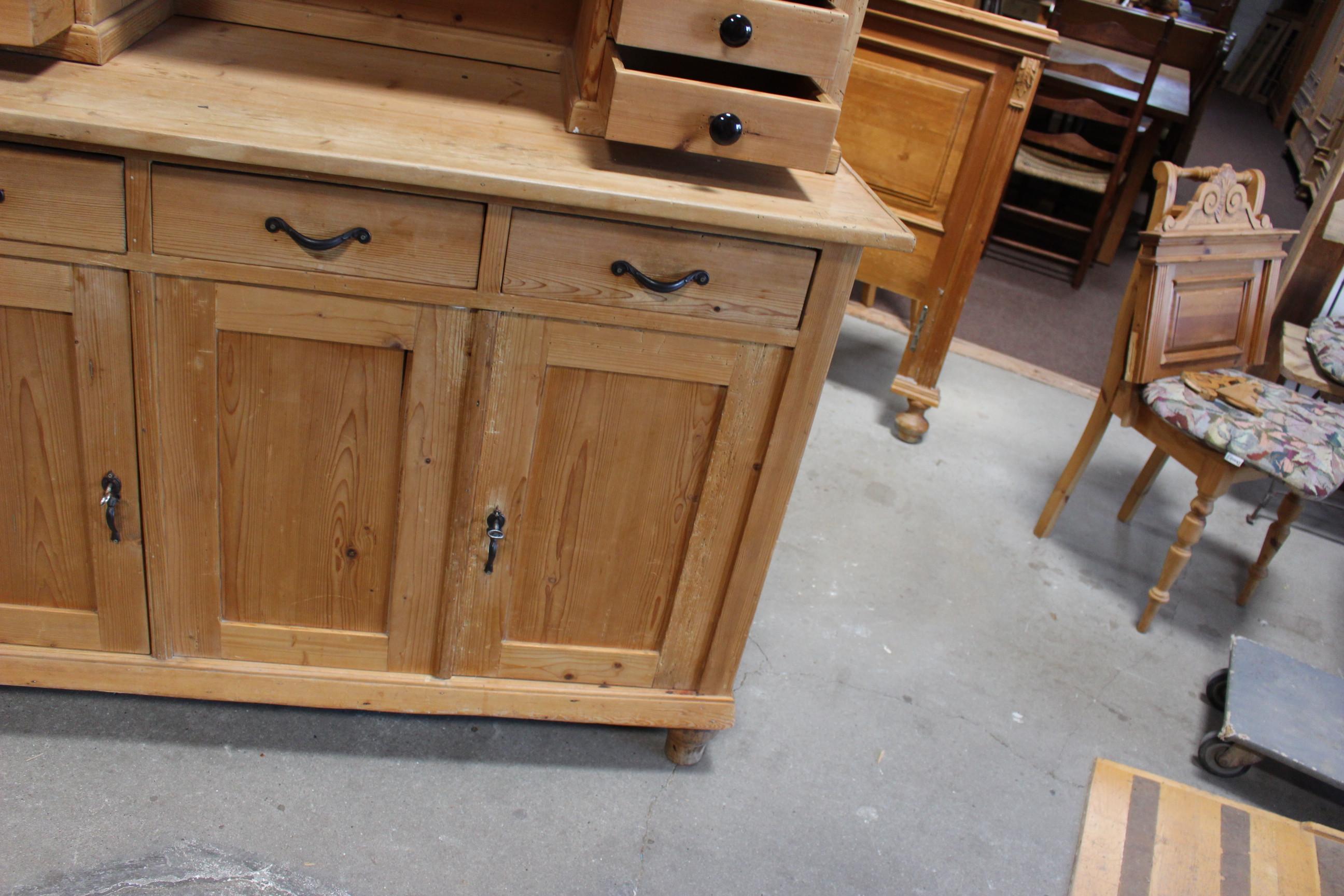 Art Deco Küchenbüffet frisch eingetroffen Kiefer (Art.-Nr. 03272)