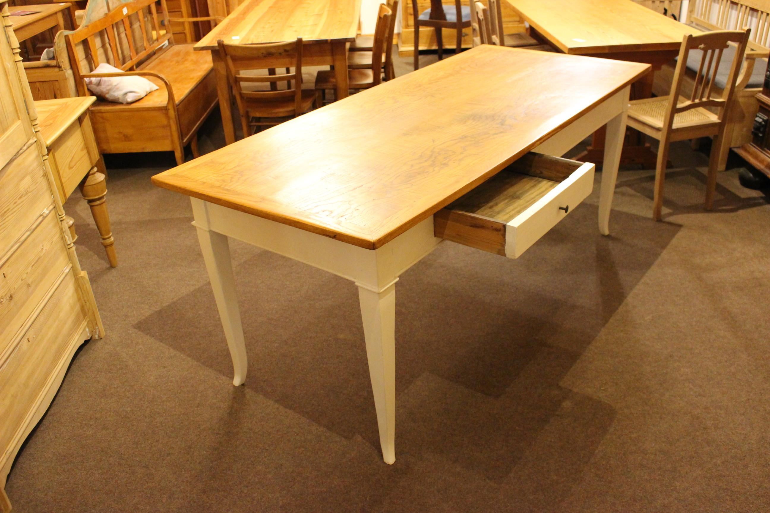 Gesindetisch Esstisch für bis zu 8 Personen (Art.-Nr. 03514)