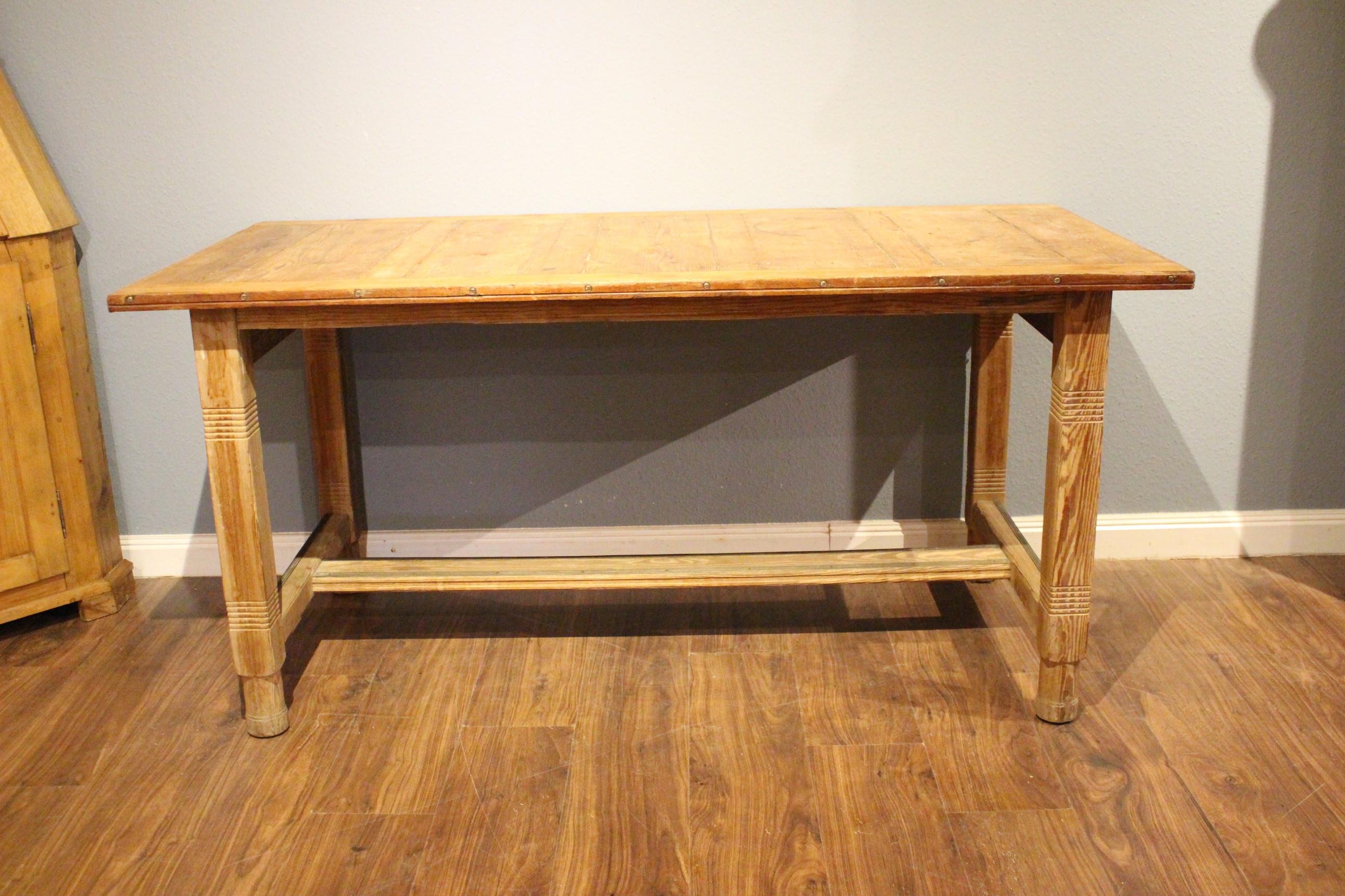 Großer Schreibtisch Arbeitstisch Esstisch Art deco (Art.-Nr.: 03551)