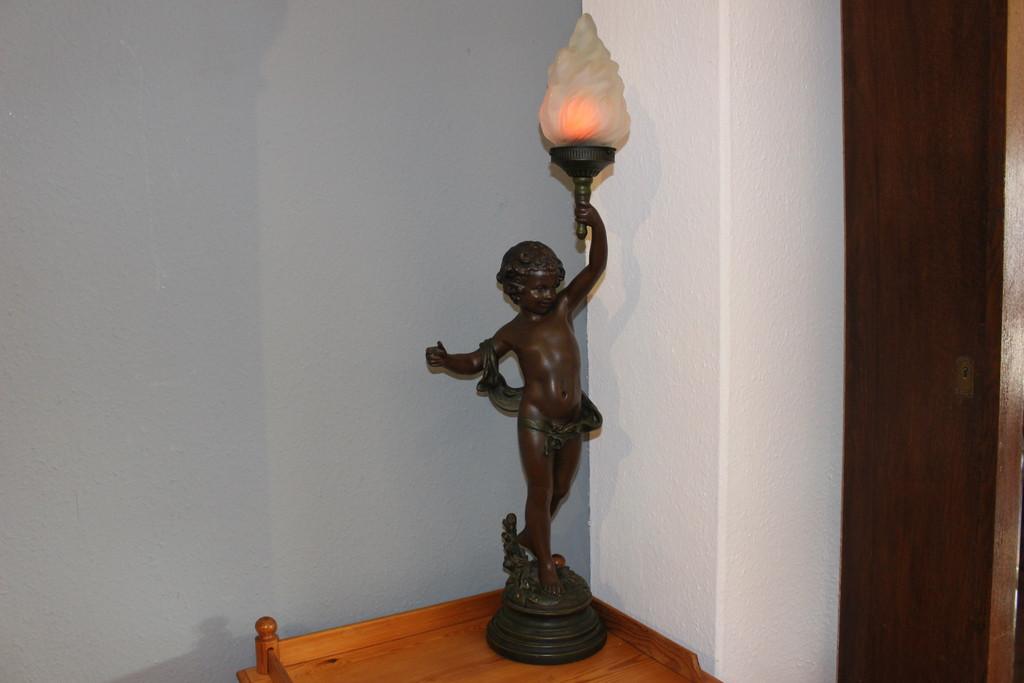 Jugendstillampe von August Moreau (Art.-Nr.: 03357)
