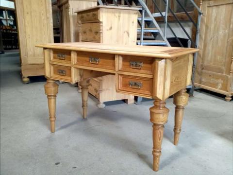 Schwedischer Gründerzeit Schreibtisch, restauriert (Art.-Nr.: 01982)