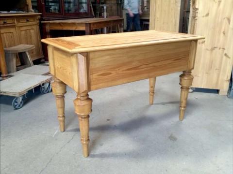 Schwedischer Gründerzeit Schreibtisch, restauriert (Art.-Nr. 01982)