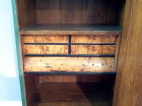 1türiger Schrank gefasst und datiert auf 1864 (Art.-Nr. 02305)