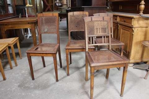 4 Stühle aus der Zeit des Jugendstil (Art.-Nr. 02561)