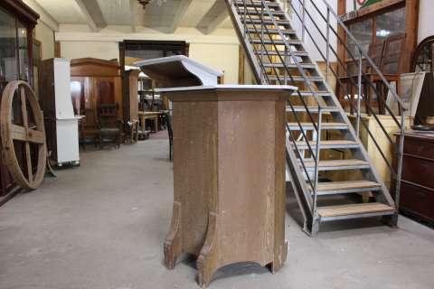 Alte Kirchenkanzel  Rednerpult oder ne Bütt (Art.-Nr.: 02704)