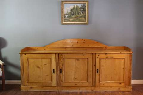 256 cm Sideboard in Weichholz Kiefer (Art.-Nr.: 02771)
