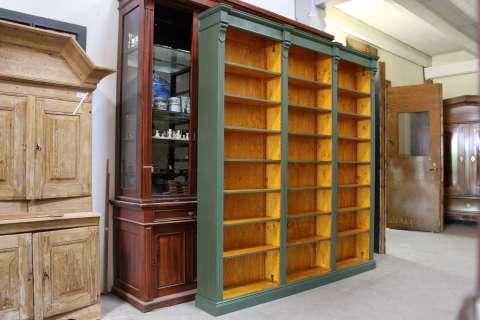 Bücherregal im Gründerzeit Stil angefertigt (Art.-Nr.: 01281)