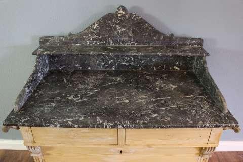 Gründerzeit Kommode Waschtisch mit Marmorplatte (Art.-Nr. 02814)
