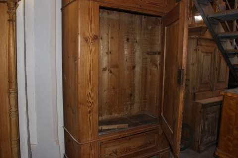 Biedermeier Schrank  eintürig zerlegbar (Art.-Nr. 02914)