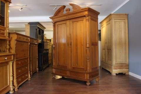 Gründerzeit Dielenschrank Kleiderschrank (Art.-Nr.: 02989)