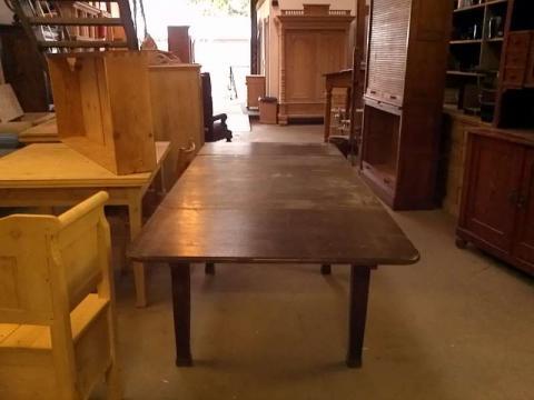 alter Esstisch Küchentisch ausziehbar noch unrestauriert (Art.-Nr. 01212)