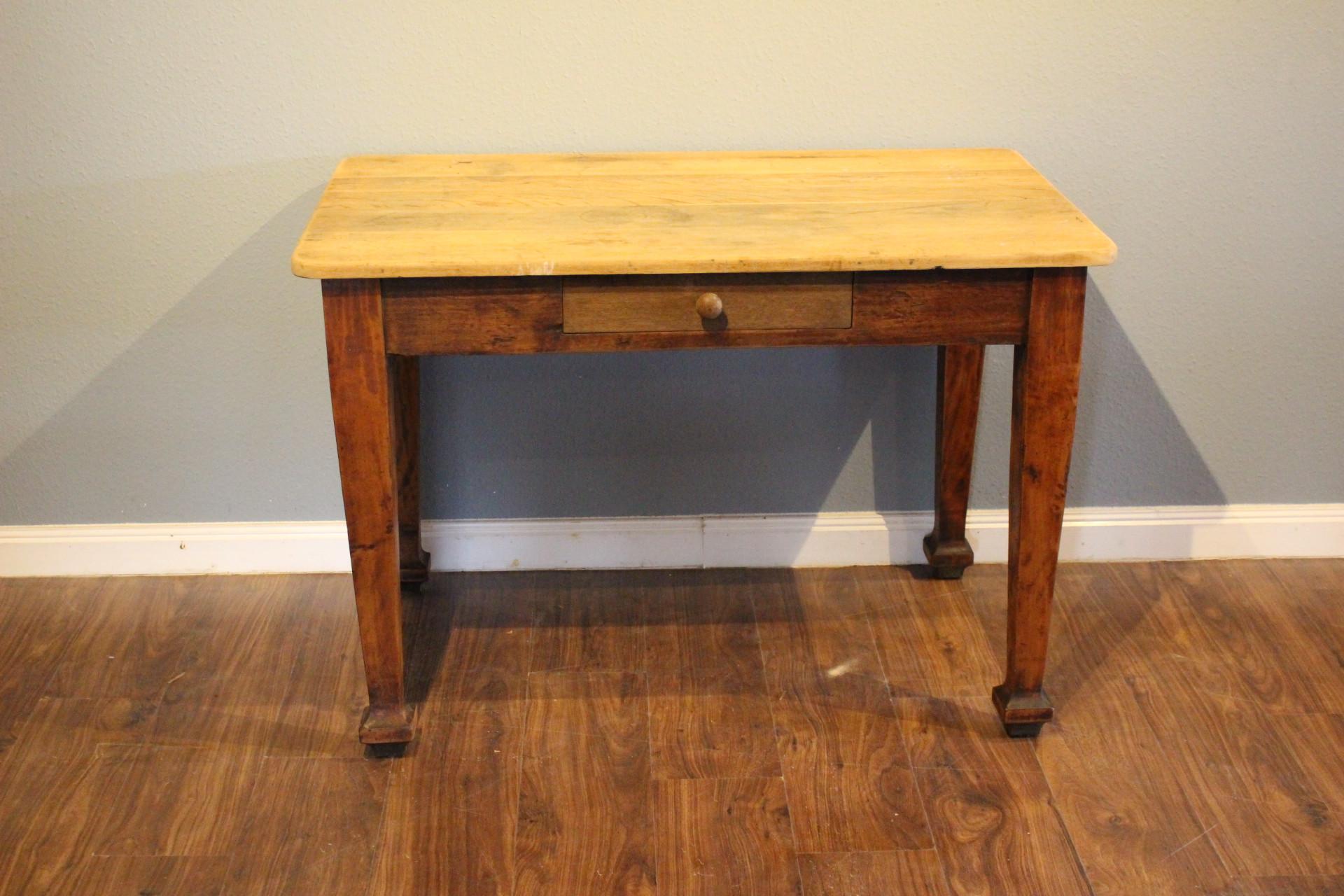 Schreibtisch, Küchentisch, Jugendstil (Art.-Nr.: 03407)