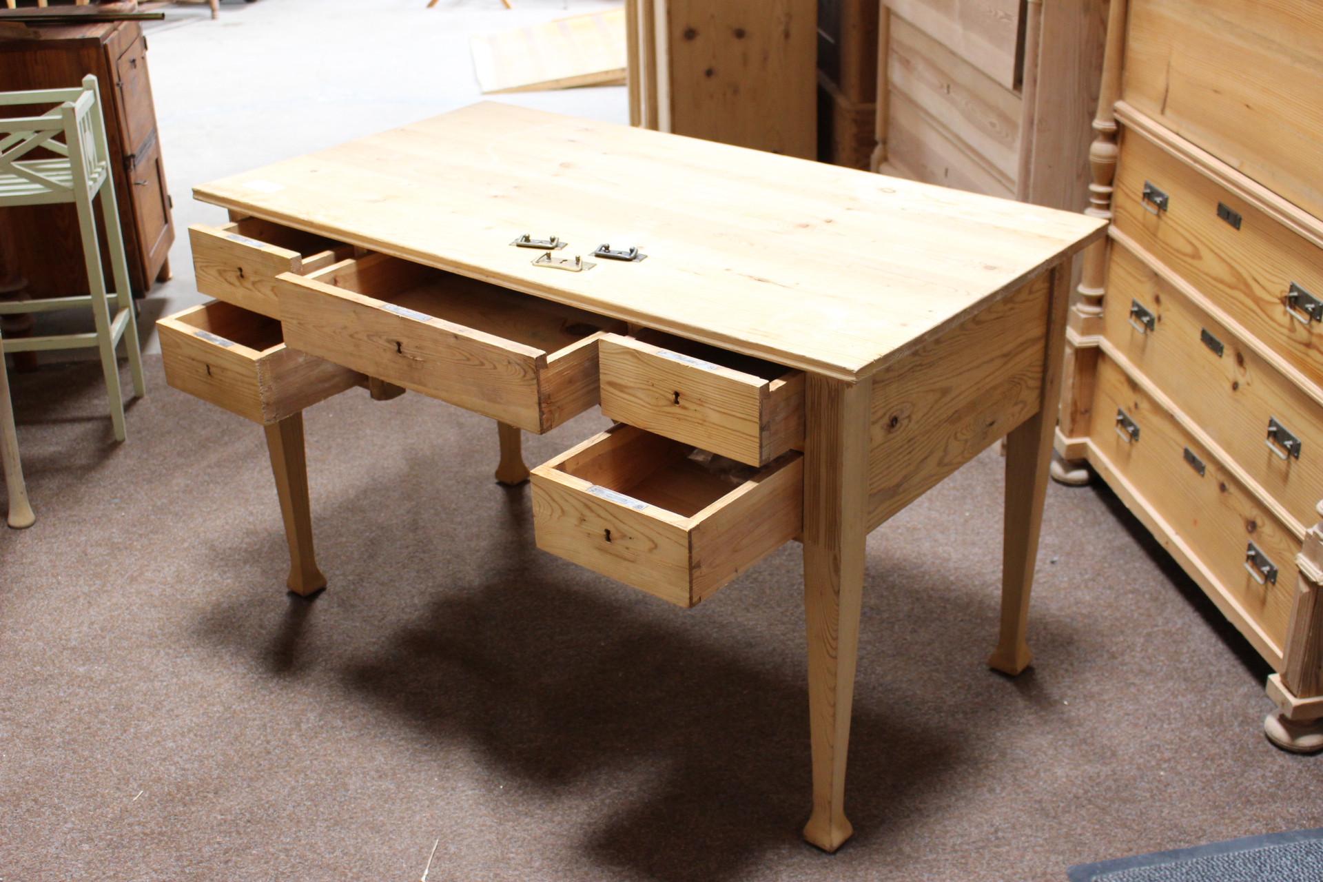 Schreibtisch Jugendstil (Art.-Nr. 03306)