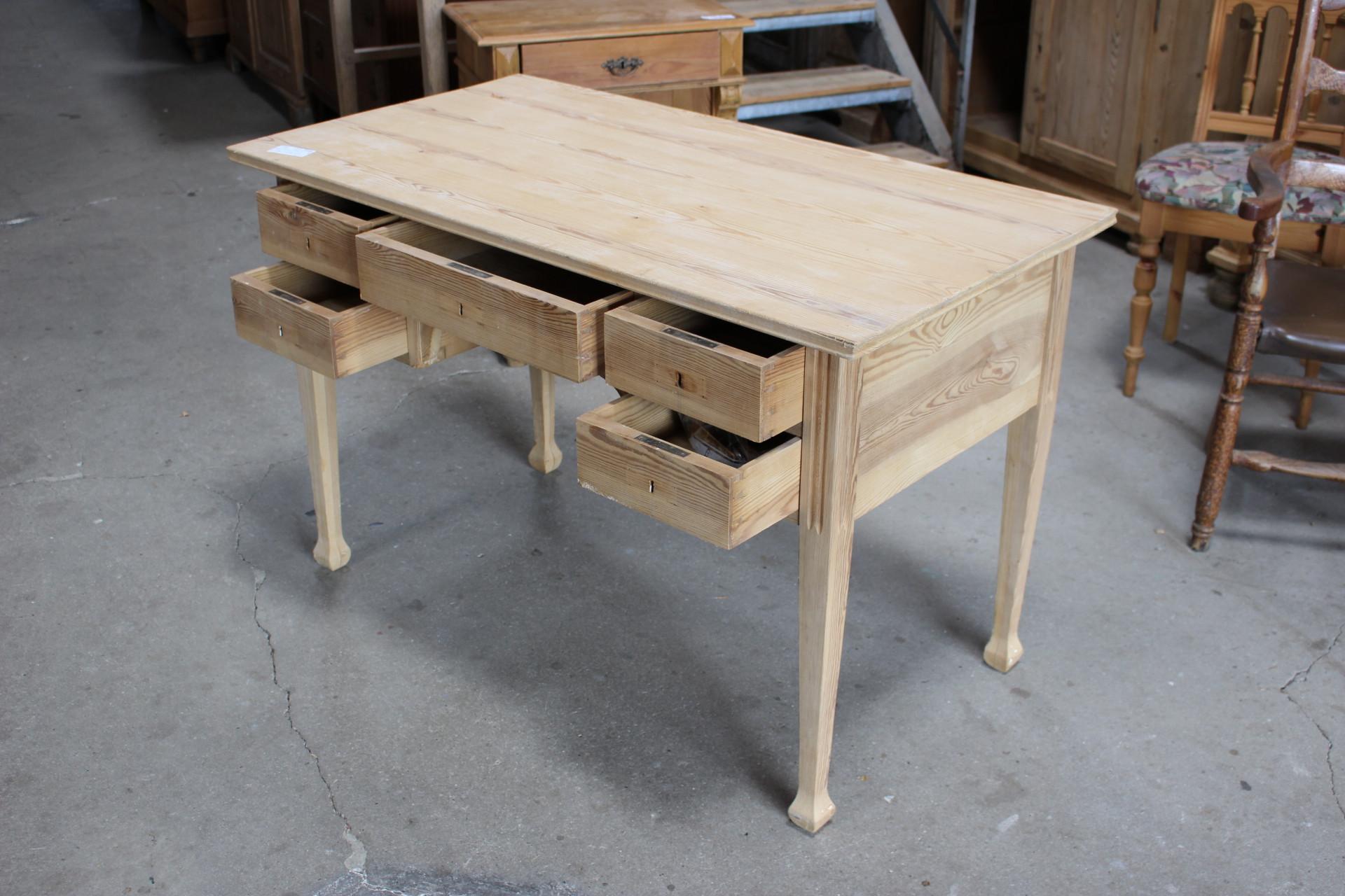 Schreibtisch Jugendstil (Art.-Nr. 03308)