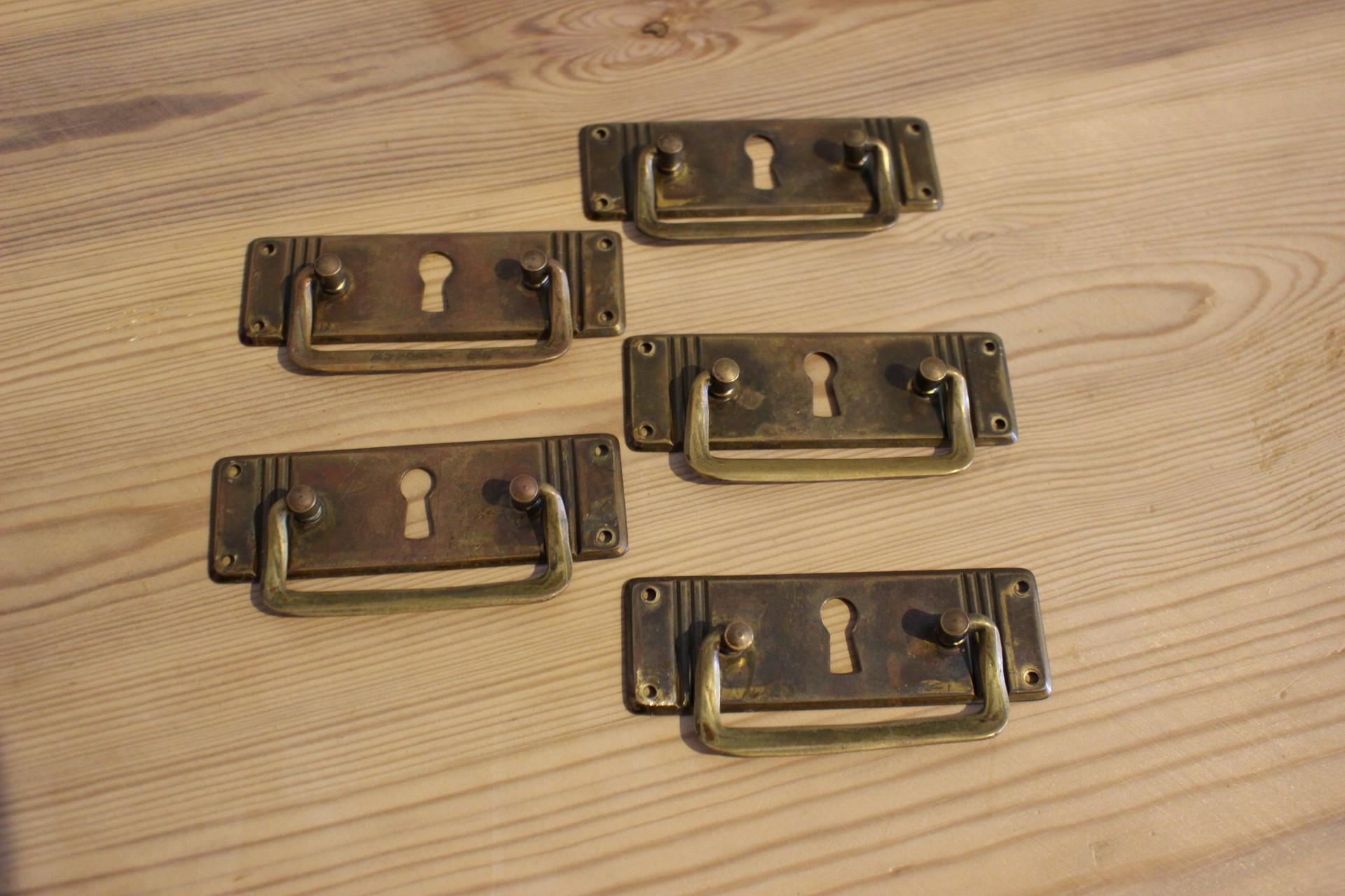 Schwedischer Jugendstil Schreibtisch (Art.-Nr. 03501)