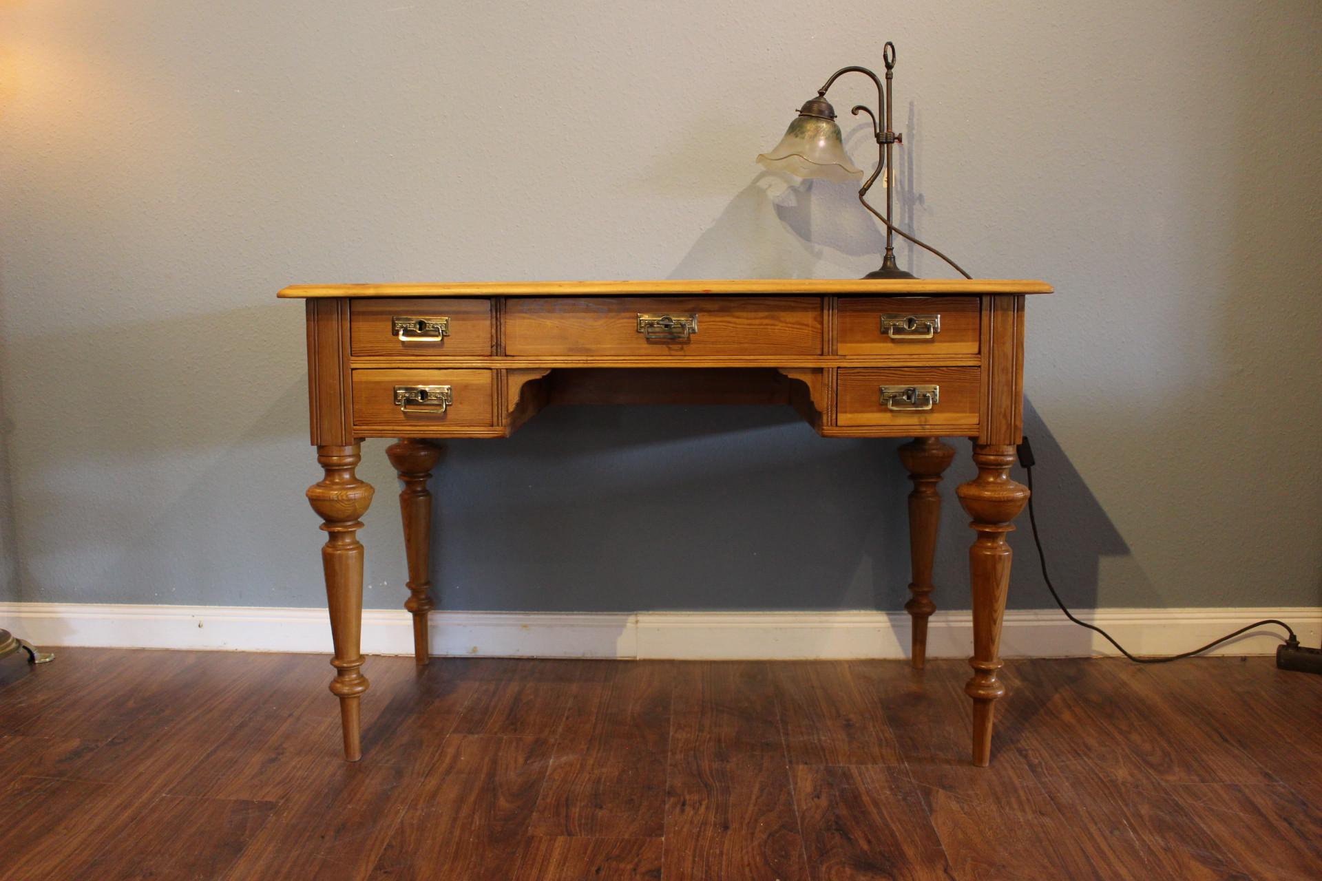 Schwedischer Schreibtisch, Gründerzeit (Art.-Nr.: 03337)