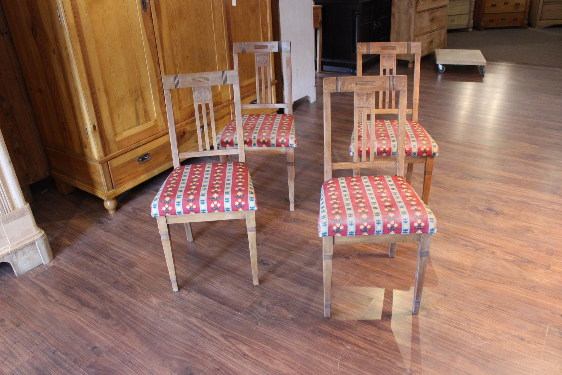 Stühle, Jugendstil,Küchenstuhl Buche (Art.-Nr.: 03343)
