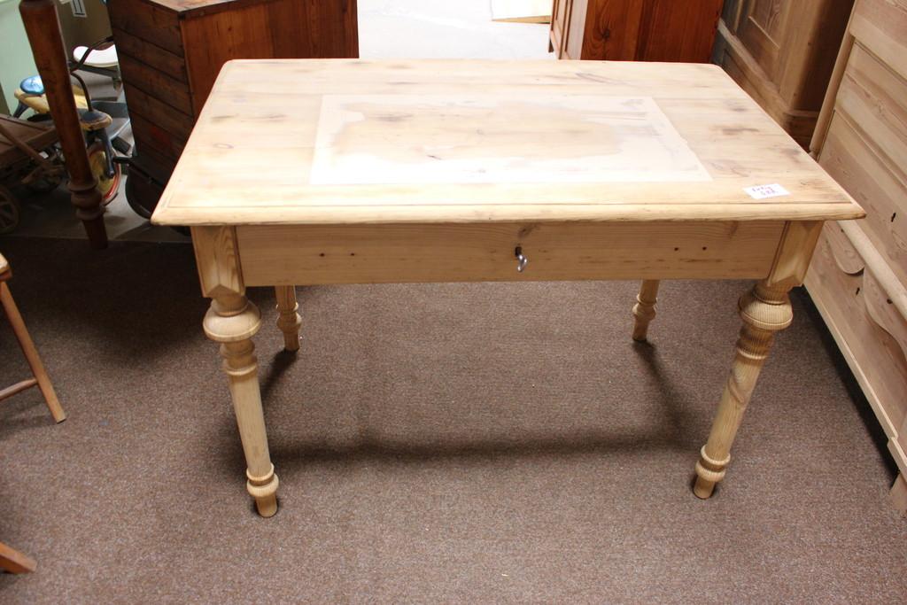 Tisch Schreibtisch Küchentisch Kiefer antik (Art.-Nr.: 03218)